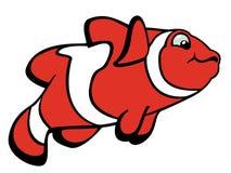Clownfish dos desenhos animados Imagem de Stock Royalty Free