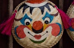 Clownframsidan Royaltyfri Bild