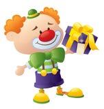 Clowngåva royaltyfria foton