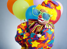 clowngangsta Royaltyfria Foton