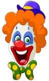 Clowngezicht Royalty-vrije Stock Fotografie