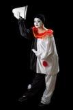 Clownhälsningar Royaltyfria Bilder