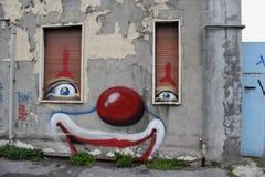 Clownhuis Stock Afbeeldingen