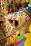 clownhuvud Royaltyfri Fotografi