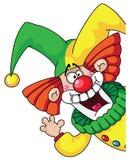 clownhuvud Royaltyfria Foton