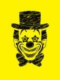 Clownkopf-Lächelngesicht Lizenzfreie Stockfotos