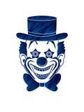 Clownkopf-Lächelngesicht Lizenzfreie Stockfotografie