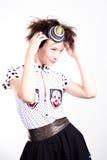 clownmodell Royaltyfri Bild