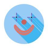 Clownpictogram vector illustratie