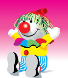Clownpuppe Stockbild