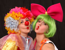 Clowns photographie stock