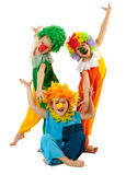 Clowns stock afbeelding