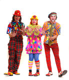 Clowns Images libres de droits