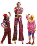 Clowns Photographie stock libre de droits