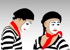 Clowns Stock Image