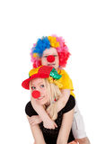 Clowns Royalty Free Stock Image