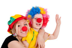 Clowns Royalty Free Stock Photo