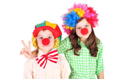 Clowns Royalty Free Stock Images
