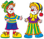 Clowns Photo stock