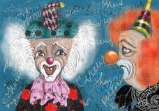 Clowns Photographie stock