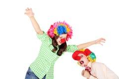 clowns photo libre de droits