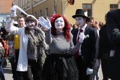 clowns Royalty-vrije Stock Afbeeldingen