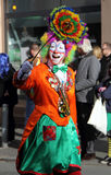Clowns at carnival street parade , Germany. Stock Photo