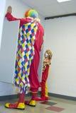 Clowns dans l'urinal Photo libre de droits