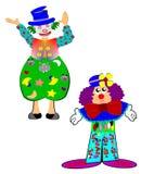 Clowns de cirque Image stock