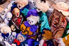 Clowns de jouet Photos stock