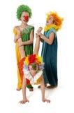 Clowns drôles Image libre de droits