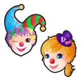 clowns ilustração do vetor