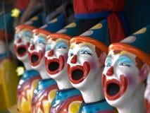 Clowns en céramique images libres de droits