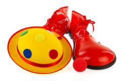 Clowns equipment Royalty Free Stock Photos