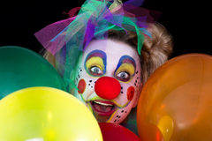 Clowns face Stock Image