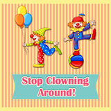 Clowns Stock Photography