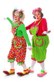 Clowns Playing Stock Images