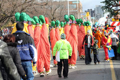 Clowns - Santa Claus Parade Toronto 2010 Royalty Free Stock Photo