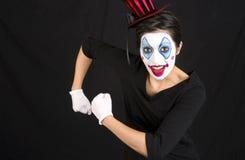 clownshow Royaltyfri Bild