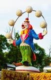 Clownstatue Lizenzfreie Stockbilder