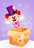 Clownverrassing Royalty-vrije Stock Foto's