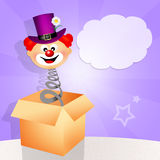 Clownverrassing Stock Foto's