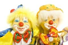 clownvänner Arkivfoton