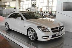 CLS-Classe neuve de Mercedes sur l'affichage Photos libres de droits