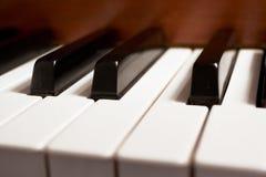 Clés de piano Photographie stock libre de droits