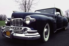 Clássico 1947 da Pano-parte superior de Lincoln   Imagem de Stock