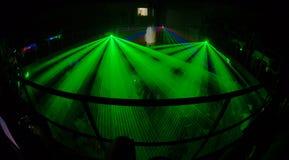 Club 5 van de nacht Royalty-vrije Stock Foto