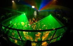 Club 8 van de nacht Royalty-vrije Stock Fotografie