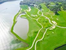 Club aéreo Austin, Tejas, los E.E.U.U. del condado del campo de golf imagenes de archivo