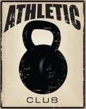 Club atlético Fotografía de archivo